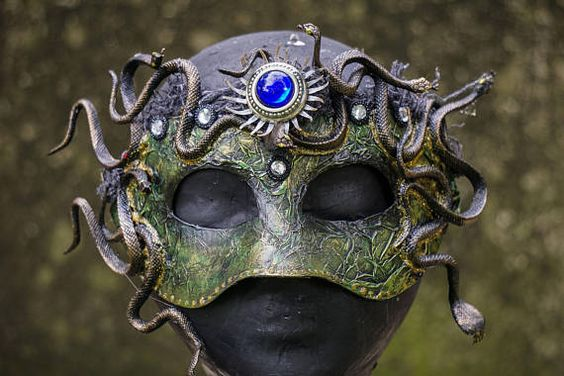 Snake mask made with the best mask making materials