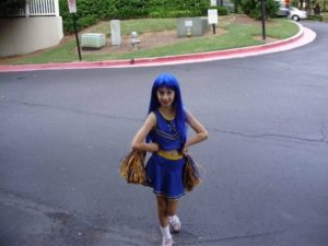 cosmos_cosplays first cosplay - 2008, Konata from Lucky Star