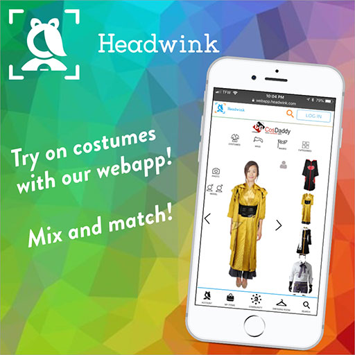 Headwink Cosplay App Try On Japanese Cosplay