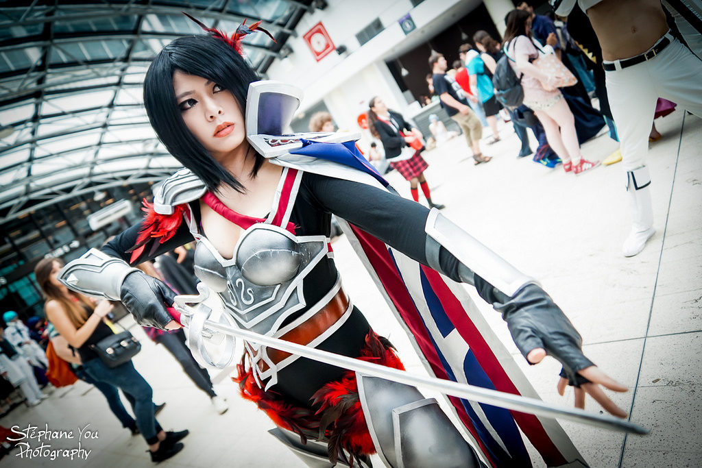 League of LEgends Japanese Cosplay Japan Expo 2014