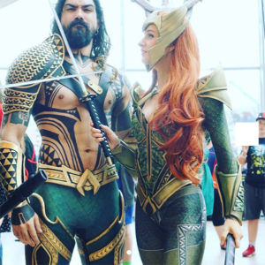 Aquaman & Nera couples Halloween costume idea