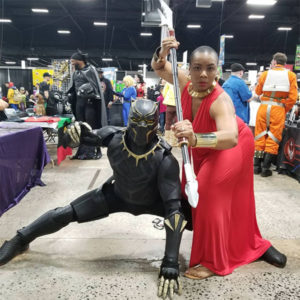 Black Panther couples Halloween costume ideas