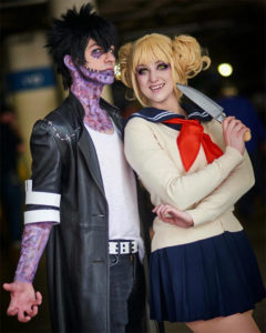 Toga & Dabi Cosplay one of many great anime couples Halloween costume ideas