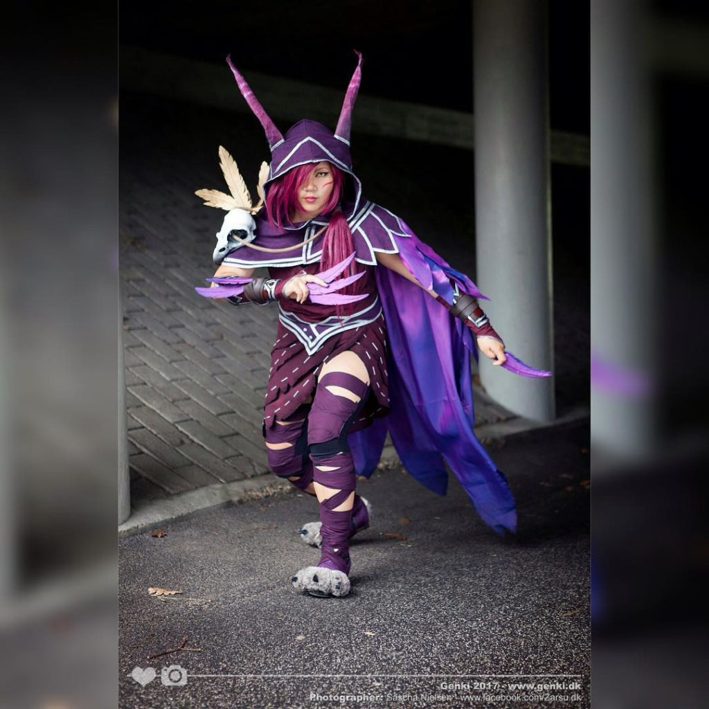 Xayah Cosplay by caivacosplay