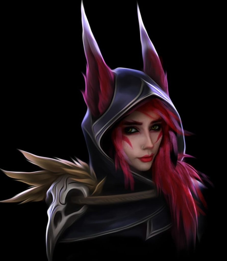 Xayah Cosplay by Nekakill