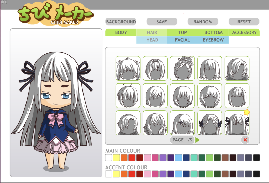 Doll DIvine anime dress up games