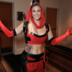 I Dream of DeadPool mashup cosplay