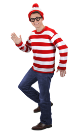 Easy cosplay of Where's Waldo